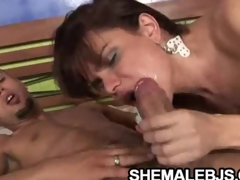 Hilda Brasil - Hot Blowjob From A Hot Shemale